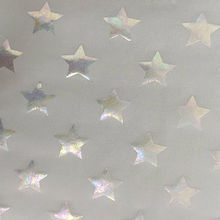 Metallic foil print 4-way spandex fabric from China (mainland)