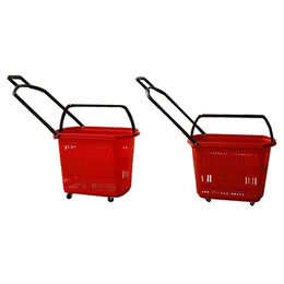 Metal supermarket wire shopping basket from China (mainland)