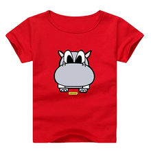 Lovely boys and girls t-shirt short sleeves from China (mainland)
