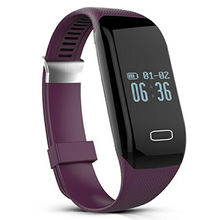 China supplier's OLED heart rate fashion health H3 smart bracelet Android app download
