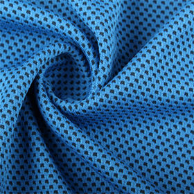 China Two tone honeycomb cooling quick dry fabric