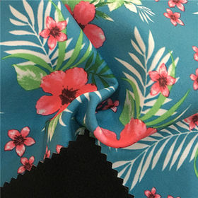 Polyester 4-way stretch bonded with TPU membrane fleece fabric from Suzhou Best Forest Import and Export Co. Ltd