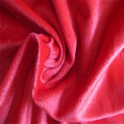 China 100% polyester tricot velour upholstery fabric