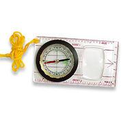 Hong Kong SAR Map Compass with Acrylic Baseplate and Large rectangular Magnifier