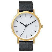 China Newest Custom Gold men Alloy Watch with your Own logo Watches