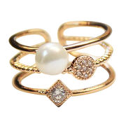 China Trendy Metal Alloy Ring