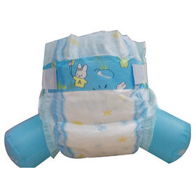 China High Absorbent Disposable Sanitary Baby Diaper