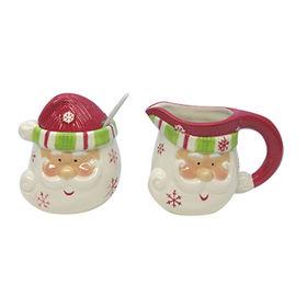 Christmas ceramic sugar and creamer sets from China (mainland)