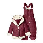 Puffer winter baby snowsuit pram ski wear from China (mainland)