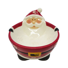 Ceramic Santa Bowl from China (mainland)