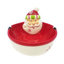 Ceramic Santa bowl from China (mainland)