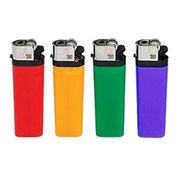 Disposable Cigarette Lighter with Plastic Housing, Can Make the Frame in Different Color
