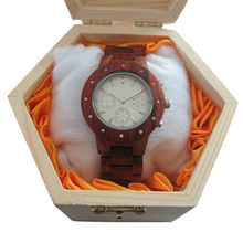 China High quality new fashion wooden watch box, 100% natural watch wood, wooden wrist watch