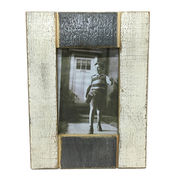 China Vintage White Black Wooden Photo Frame