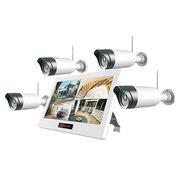 Good quality 4 channel wireless cctv Wifi 2MP IP Surveillance Camera of 4CH NVR