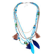 China New Arrival Colorful Beaded Necklace