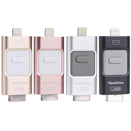 3-in- 1 OTG USB Flash Drive for iOS, Android and PC from Memorising Tech Limited