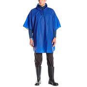 Polyurethane hooded rain gear men's poncho from China (mainland)