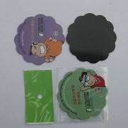 Magnetic Sticker, Available in Various Sizes, Made of PVC and Rubber from Jyun Magnetism Group Limited