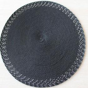 Hotel kitchen table mat handmade woven pp placemats from Ningbo Yinzhou Yichuan Artware Co. Ltd