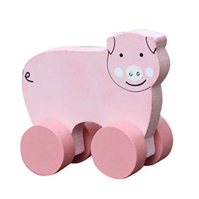 Pig car toy wooden toy making plans from China (mainland)