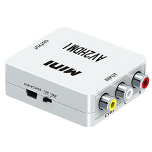 1080P HDMI to AV 3RCA CVBs Composite Video Audio Converter Adapter Supporting PAL/NTSC from Dongguan SIYAO Electric Co.,Ltd