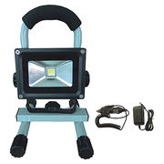 China 10W rechargeable LED flood light
