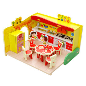 Play wooden DIY kitchen toy from China (mainland)