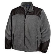 Men's explorer fleece full zip jacket from China (mainland)