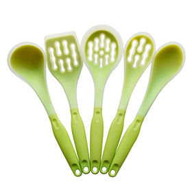 China Yangjiang China silicone 5 pieces kitchen utensils set cooking utensils cooking tool set