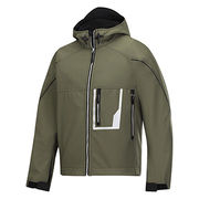 Olive green woodland softshell jacket from China (mainland)