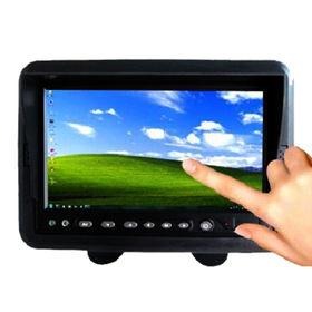 Hong Kong SAR 7-inch digital TFT panel, aspect ration16: 9 image, touch button