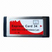 China B-LINK Wireless Express Card, 11N 150M, Adopts 2x to 3x Extended Range, WLAN Transmission Technology