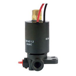 China 2/3 way nylon solenoid valve