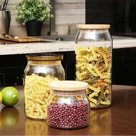 China Glass storage jars