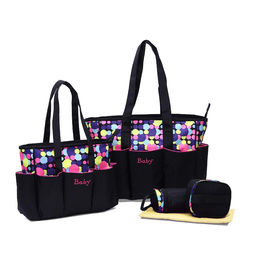 Multi-function Shoulder Mummy Diaper Bags with Polyester Material from Xiamen Dakun Import & Export Co. Ltd