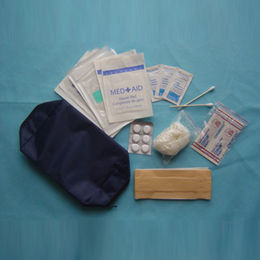 Minor Burn-first Aid Kit, Includes 2 x 2-inch Gauze Cotton Pads