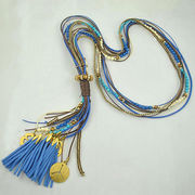 New arrival tassel beaded multilayer necklace Ebolle Fashion Accessories Co. Ltd