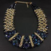 Beaded Choker Necklace Ebolle Fashion Accessories Co. Ltd