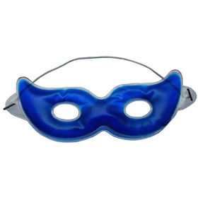 liquid filled PVC cooling mask with eye holes from Hot and Cold Products Co. Ltd
