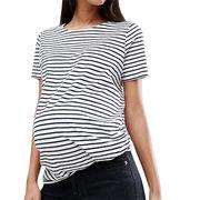 Maternity Nautical Stripe T-Shirt from China (mainland)