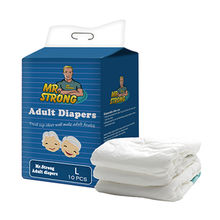 Most soft material disposable adult diaper size L from China (mainland)