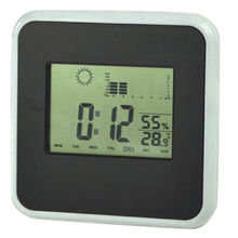 China LCD clock with thermo-hygrometer