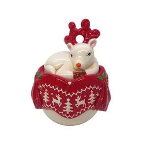 Ceramic candy jar from China (mainland)