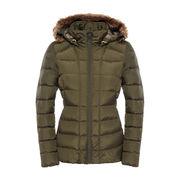 China Female outdoor fur hood winter coat