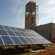 China 20HP/15KW AC Solar Deep Well Pumping System
