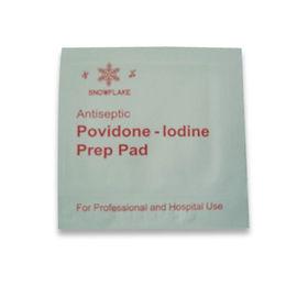 China Povidone Iodine Prep Pad, Made of 10% Povidone Iodine