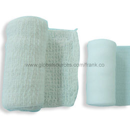 Elastic Bandages Including PBT and Cotton Crepe Varieties