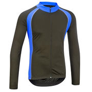 China Long sleeves full zipper back longer men's cycling t-shirt cheap cycle wear Quick Dry