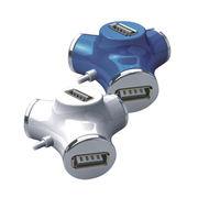 China Water tube 2.0 USB hub/4-port 2.0 USB hub